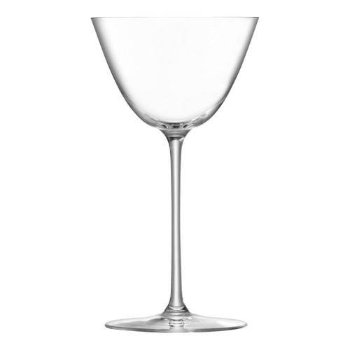 Borough Set of 4 martini glasses, 195ml, clear