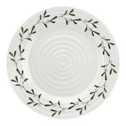 Mistletoe Dinner plate, Dia28cm, white/ green
