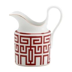 Labirinto Cream jug, 24.5cl, scarlatto