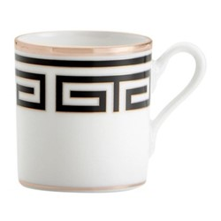 Labirinto Coffee cup, 8cl, nero