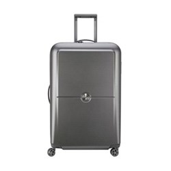 Turenne 4-Double wheel trolley case, 75cm, silver