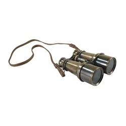 Victorian Binoculars with tripod, H6 x W12.5 x L12cm, bronze finished