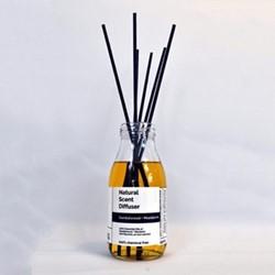 Pure - Sandalwood and Mandarin Diffuser, 250ml, clear