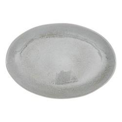 Bretby Large serving platter, W29 x D42cm, flax blue