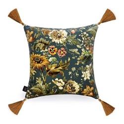 Avalon Cushion, 45 x 45cm, petrol