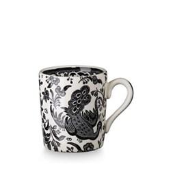 Regal Peacock Espresso cup, 7.5cl, black
