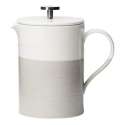 Coffee Studio French press, 0.5 litre, white/grey
