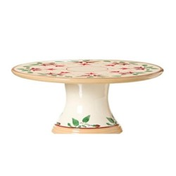 Fuchsia Footed cake plate, D23 x H10cm