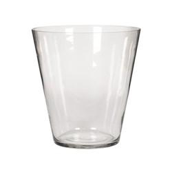 Alderney Large hurricane vase, H29.5 x D28cm, clear