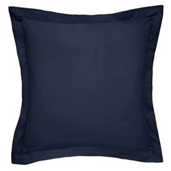 600TC Square pillowcase, H65 x W65cm, Midnight