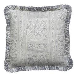 Mattinata Cushion, 55 x 55cm, ostuni storm