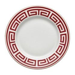 Labirinto Plate, 30.5cm, scarlatto