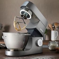 Chef Titanium KVC7300S Stand mixer, 1500W - 4.6 litre, Silver