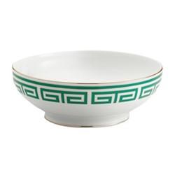 Labirinto Salad bowl, 26.5cm, smeraldo