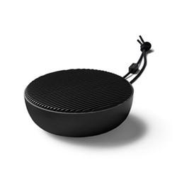 City Portable speaker, H4 x W10.5cm, stone grey