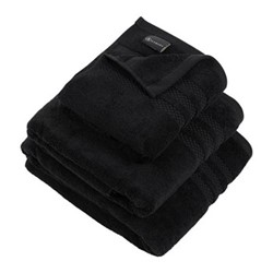 Egyptian Cotton Hand towel, 50 x 90cm, black