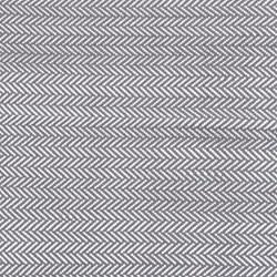 Herringbone Polypropylene indoor/outdoor rug, W183 x L274cm, shale/white