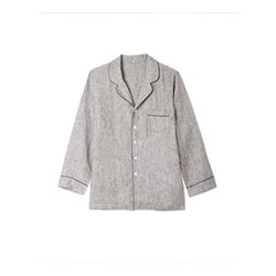 Pyjama shirt - large, grey