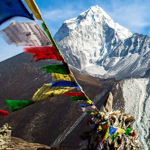 7-day Everest Base Camp trekking and helicopter trip for two