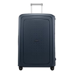 S'Cure Spinner suitcase, 75 x 52 x 31cm, navy blue stripes