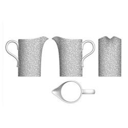 Pure Morris - Willow Bough Jug, 1.1 litre, grey/white