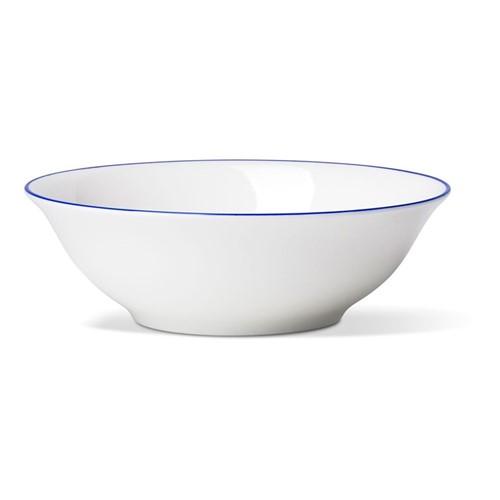 Rainbow Collection Cereal bowl, Dia16 x H5.5cm, lapis lazuli rim