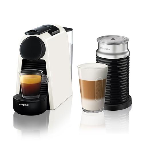 Essenza Mini with Areoccino - 11372 Coffee machine by Magimix, pure white