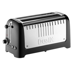 Lite 2 slot toaster, black