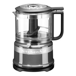 Mini Food processor, 830ml, contour silver