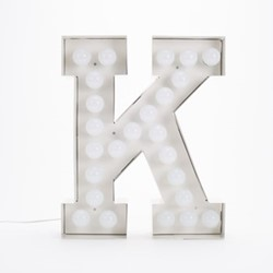 Vegaz K Letter light, H60cm