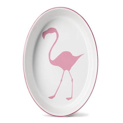 Flamingo Oval baking dish, 34cm