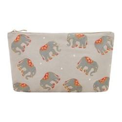 Elephant Pouch, H20 x L30cm, grey