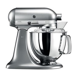 Artisan Stand mixer, 4.8 litre, brushed nickel