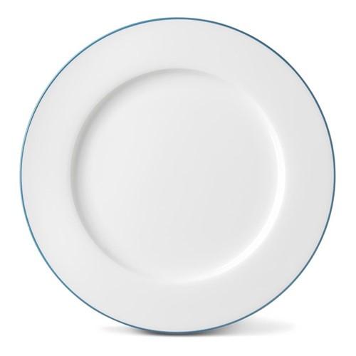 Rainbow Collection Dinner plate, 27cm, teal rim
