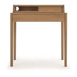 Leonie Compact desk, W79 x H87 x D50cm, oak