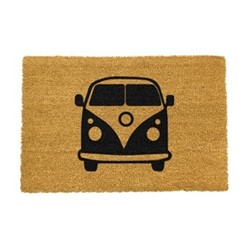 Images Doormat - Campervan, black/brown