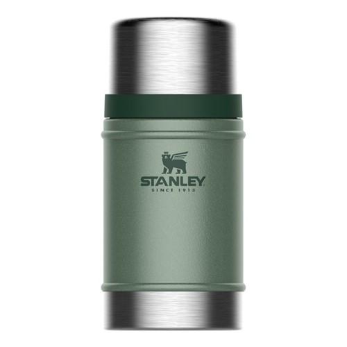 Classic Vacuum food jar, 700ml, hammertone green