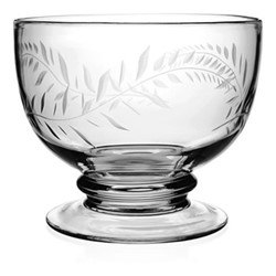 Country - Jasmine Footed serving bowl, 24cm, clear