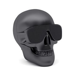 AeroSkull Nano Bluetooth speaker, H7.6 x W6 x D7.5cm, matt black