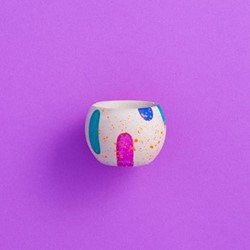 Blobs Egg cup, D5 x H5cm, multi-colour