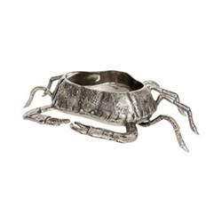 Crab Bottle holder, L55 x W70 x H17cm, silver