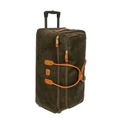 Life Holdall with wheels, W72 x H32 x D37cm, olive