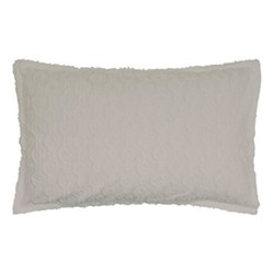 Nara Oxford pillowcase, 74 x 48cm, cloud grey