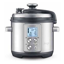 The Fast Slow Pro Slow cooker, stainless steel