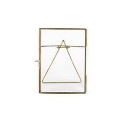"Danta Photograph frame, 5 x 7"", antique brass"