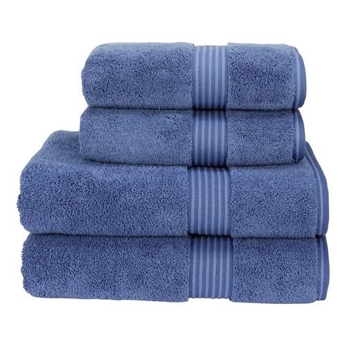 Supreme Hygro Pair of bath towels, 75 x 137cm, deep sea
