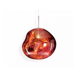 Melt Hanging pendant, H32 x L48 x W48cm, copper