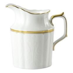 Darley Abbey Pure Gold Creamer, H11cm, white/gold