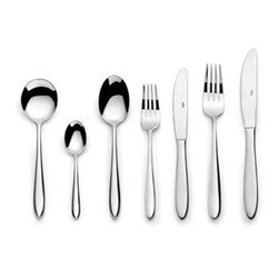 Aspira 88 piece cutlery set, mirror finish polished