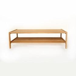 Agnes by Kay + Stemmer Coffee table, W120 x D60 x H35cm, oak
